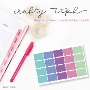 stickers autocollants bujo planner